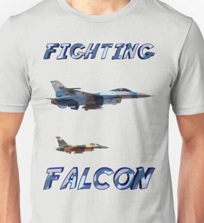 Flight of F-16 Fighting Falcons Unisex T-Shirt