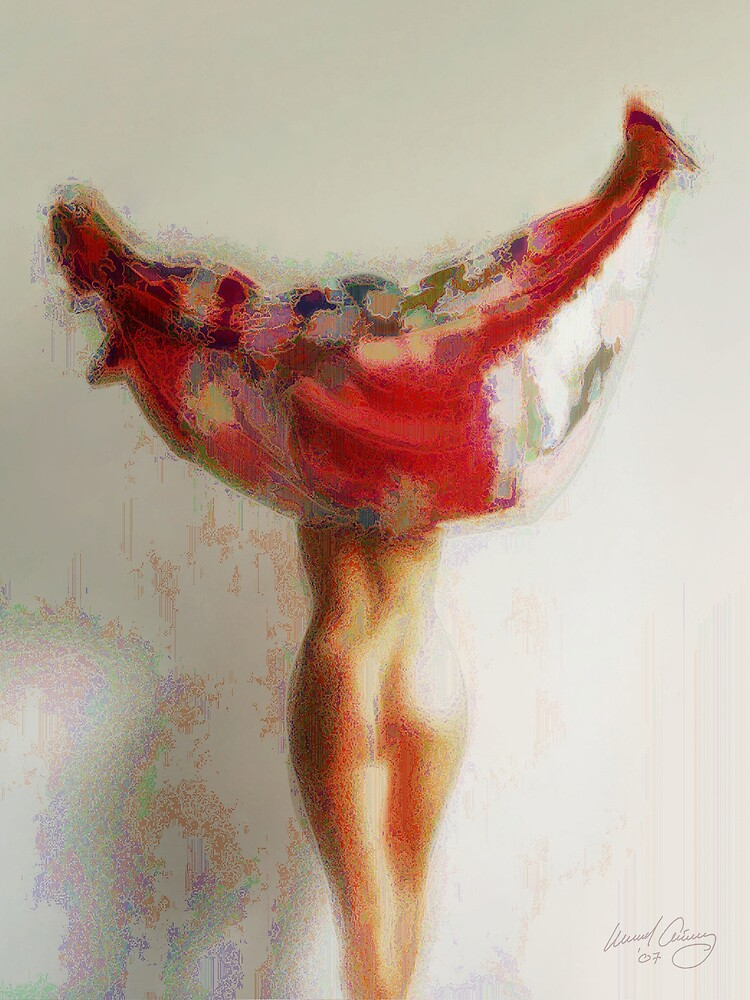 Kimono. The Revealing #1. by Michael Critchley