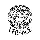 vc versace black logo by lusitia