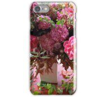 Peonies, Hydrangea, Passiflora.... iPhone Case/Skin
