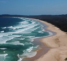 Cape Byron. by Jeanette Varcoe.