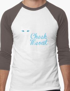 check meowt Men's Baseball ¾ T-Shirt