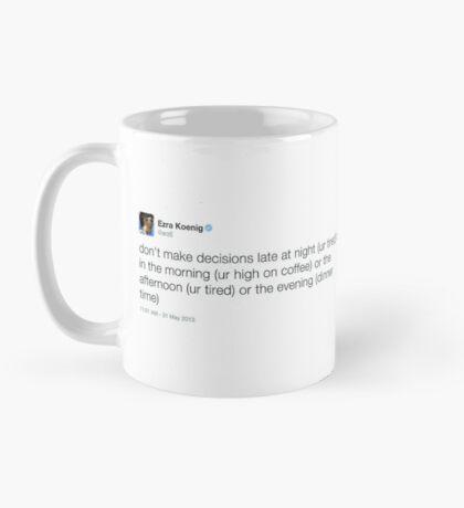 Decisions Mug