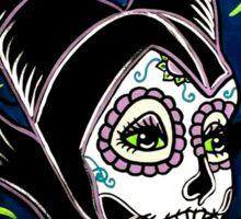 Sugar Skull Maleficent Sticker