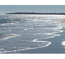 Late afternoon view across Port Moorowie, southern Yorke Peninsula, SA Photographic Print