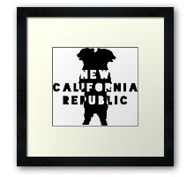 New California Republic  Framed Print