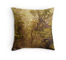 Tree is Mist - Grampians - Victoria Throw Pillow