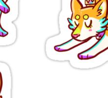 Tiny Prince Shiba Stickers Sticker