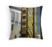 Colins St, Melbourne Throw Pillow