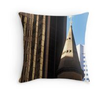Colins St, Melbourne 02 Throw Pillow