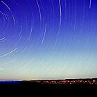 Star Trail - Blue Mountain by Alex Lau