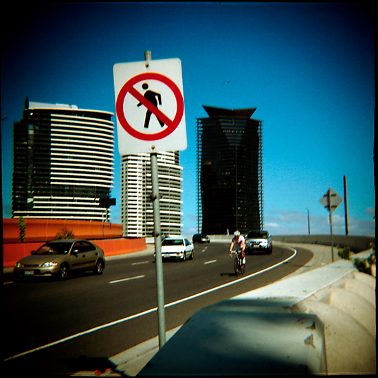 No Pedestrians by Cameron Stephen