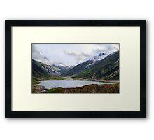 Lake Saif ul Malook - I Framed Print