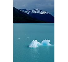 Patagonian icebergs Photographic Print