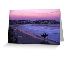 Bondi Sunset Greeting Card