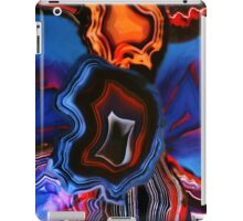 Blue Agate Layers of Earth iPad Case/Skin