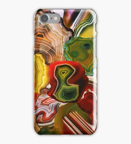 The Beauty in the Earth, Agates iPhone Case/Skin