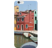 Colors of Burano 4 iPhone Case/Skin