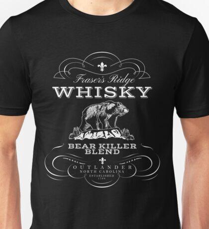 Fraser's Ridge (PLURAL) Bear Killer Whisky  Unisex T-Shirt