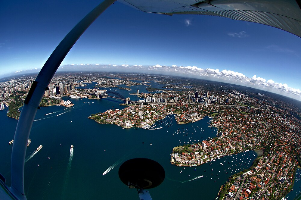 Aerial Sydney 2 by Alex Lau