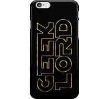 Geek Lord-Star Wars iPhone Case/Skin