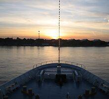 Sunset on Ouranus by BrAnKSTER