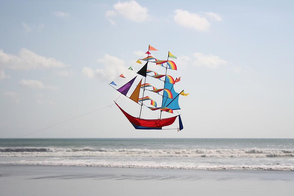 Kite Ahoy by Jim Parry
