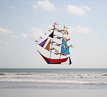Kite Ahoy by Jim Parry