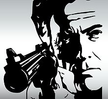 Clint Eastwood by augustinet