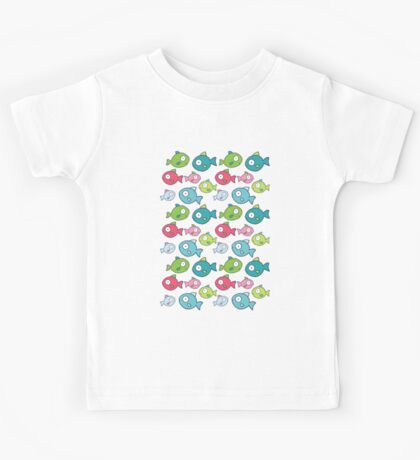 Little fishes Kids Tee