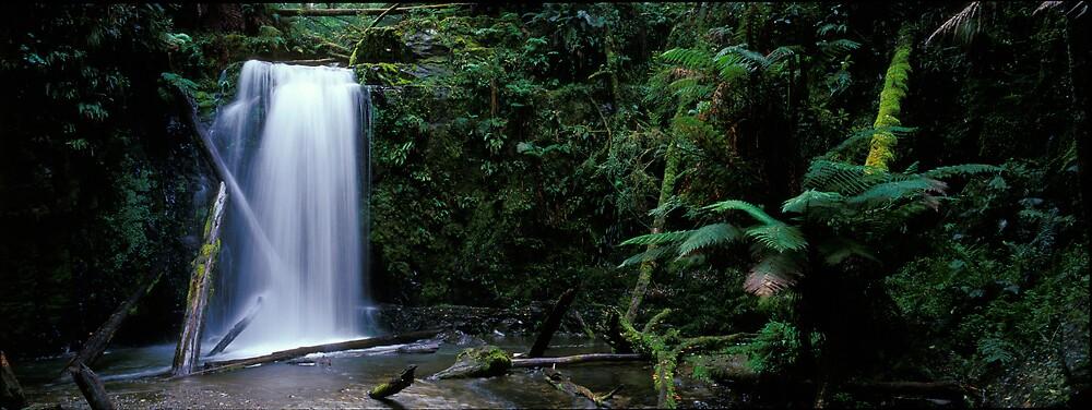 Mariners Falls - Apollo Bay - Victoria by James Pierce