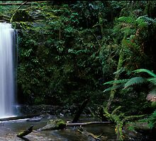 Mariners Falls - Apollo Bay - Victoria by James Pierce