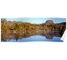 Reflections - Lake Windermere - Tasmania Poster