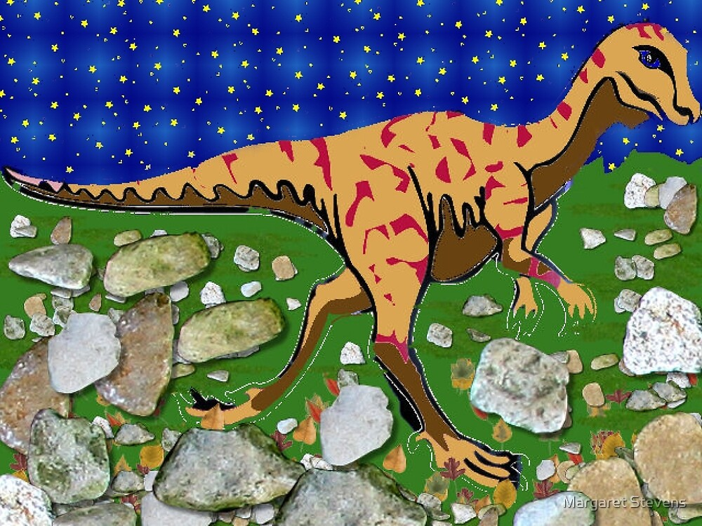 Tyrannosaurus Rex By Night by Margaret Stevens