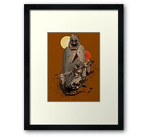 Raiders of the Twin Sun Framed Print