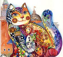 Carnaval cat by oxana zaika