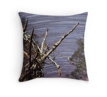 Startrails Throw Pillow