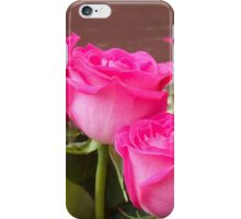 Pink Roses 2 iPhone Case/Skin