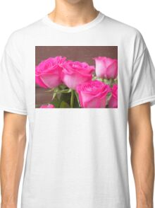 Pink Roses 4 Classic T-Shirt