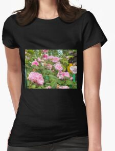 Pink Roses in the Garden T-Shirt