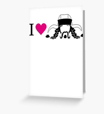 I love Bofur Greeting Card