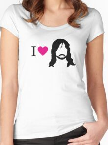 I love Kili Women's Fitted Scoop T-Shirt