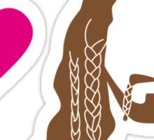 I love Fili Sticker