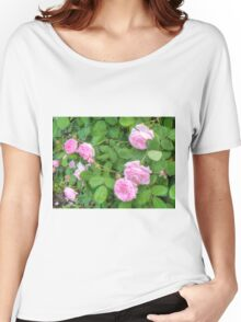 Pink Roses in the Garden 5 Women's Relaxed Fit T-Shirt