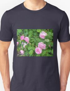 Pink Roses in the Garden 5 T-Shirt