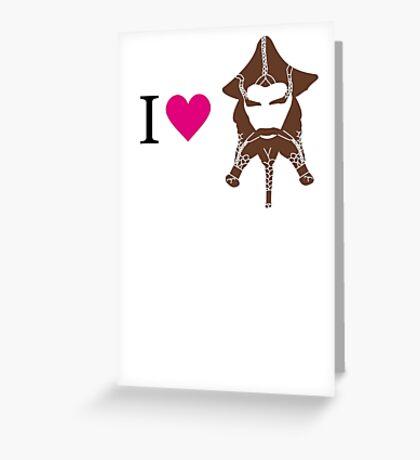 I love Nori Greeting Card