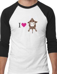 I love Nori Men's Baseball ¾ T-Shirt