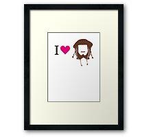 I love Ori Framed Print
