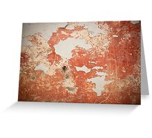 Cement wall texture Greeting Card