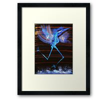 WDV - 380 - Flash and Flow Framed Print